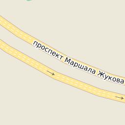 Почтовые индексы Москвы - запад