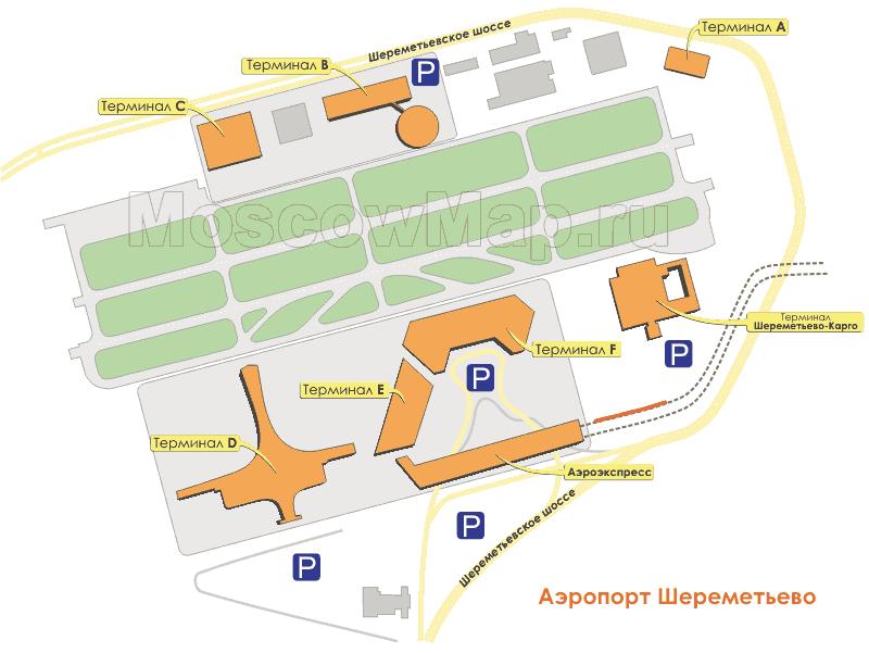 схема подьезда на аэродром астафьево