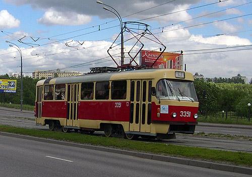 схема движения трамваев