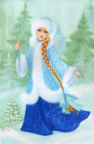 Дед  Мороз  и  Снегурочка  -  Откуда  взялась  Снегурочка?