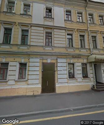 f8341e145700 Филипповский переулок д. 11 строение 1 на карте Москвы