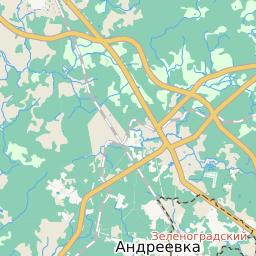 карта москвы и подмосковья