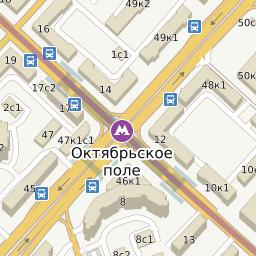 5d63fd6523ed Билайн - метро Октябрьское Поле - адреса на карте Москвы
