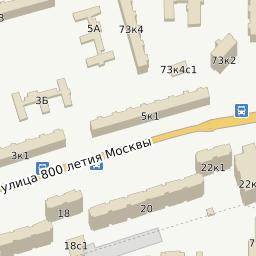 Поведенческие факторы на сайт Улица 800-летия Москвы сайт в процессе создание
