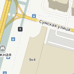 карта центра москвы с улицами и станциями метро
