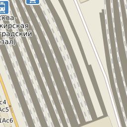 карта москвы с жд вокзалами и станциями метро