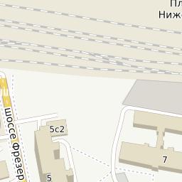 Станция нижегородская как доехать